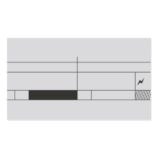 professional abstract concise design businesscard Double-Sided standard business cards (Pack of 100)