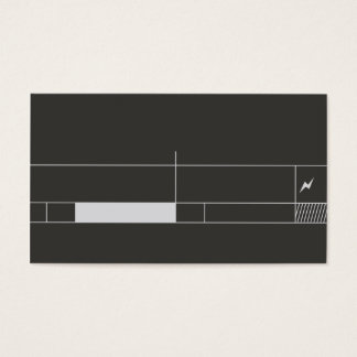 professional and unique musical business card tem