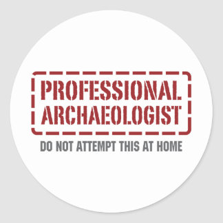 Professional Archaeologist Sticker