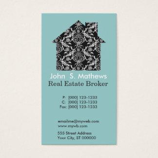 Professional Art Deco Embellished Pattern Business Card