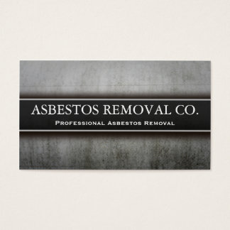 Professional Asbestos Removal Business Card