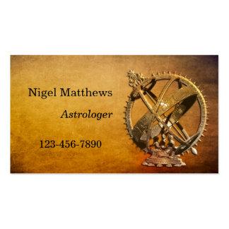 Professional Astrologer Business Card