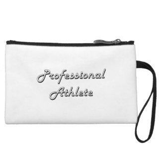 Professional Athlete Classic Job Design Wristlet Purse