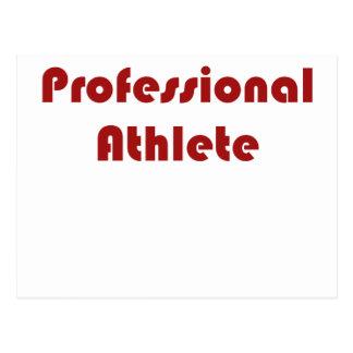 Professional Athlete Postcard