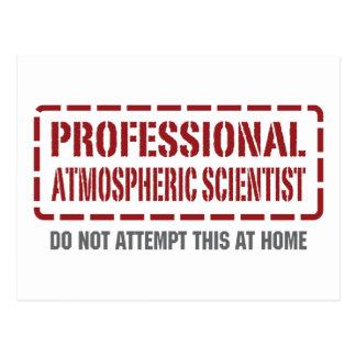 Professional Atmospheric Scientist Postcard