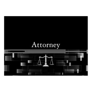 Professional Attorney Large Business Cards (Pack Of 100)