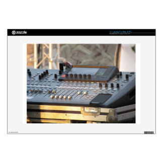 "Professional audio mixing console 15"" laptop decals"