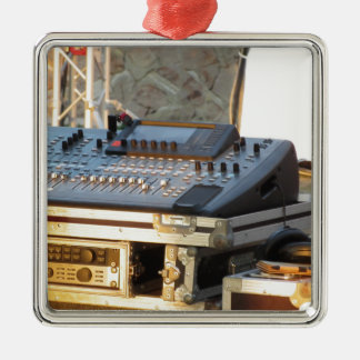 Professional audio mixing console metal ornament