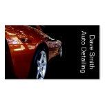 Professional Auto Detailer Business Card