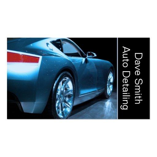 Professional Auto Detailer Business Cards