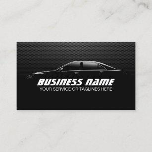 Racing car detail business cards templates zazzle professional auto detailing repair black metal business card colourmoves