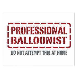 Professional Balloonist Postcard