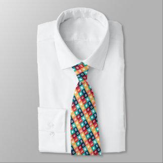 Professional Banker Iconic Pictogram Neck Tie