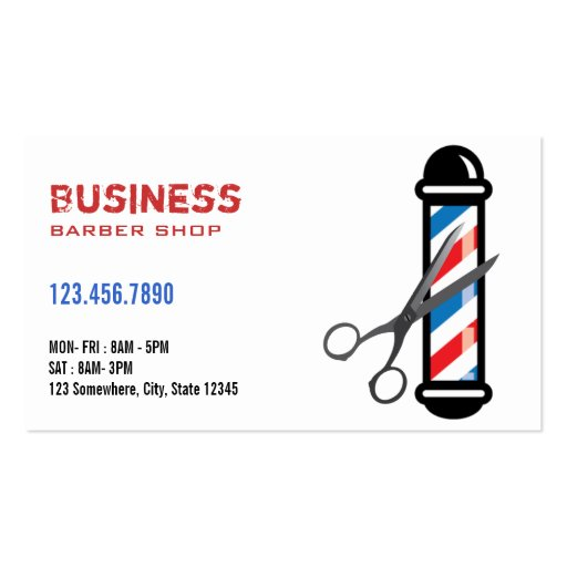 barber logos business cards - photo #32