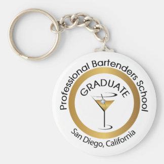 Professional Bartender School Key Chain