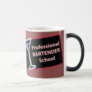 Professional Bartender School Logo Morphing Mug
