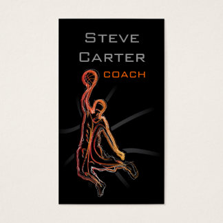 Professional Basketball Coach / Player Card