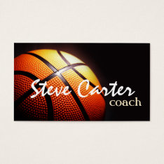 Professional Basketball Coach Player Sport Card at Zazzle
