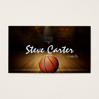 Professional Basketball Coach Player Sport Card