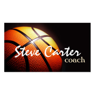 Professional Basketball Coach Player Sport Card Business Card