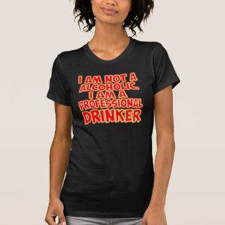 Professional Beer Drinking T-Shirt