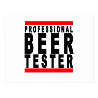 Professional Beer Taster T-shirts B.png Postcards
