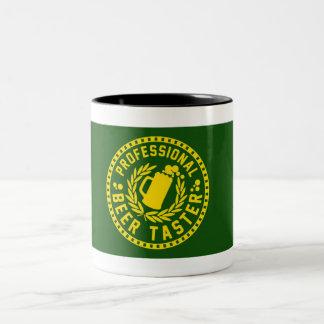 Professional Beer Taster Two-Tone Coffee Mug