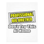 Professional Big Brother...Joke Personalized Letterhead