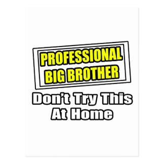 Professional Big Brother...Joke Postcard