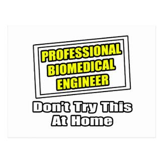 Professional Biomedical Engineer...Joke Postcard