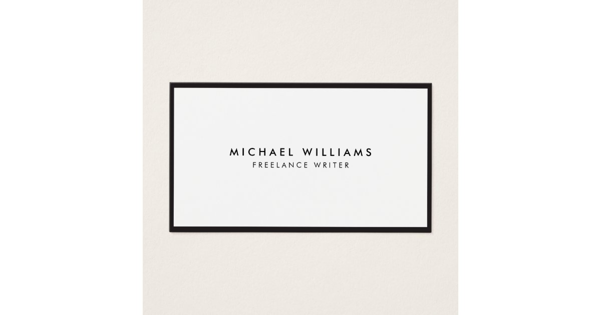 Writer Business Cards & Templates | Zazzle