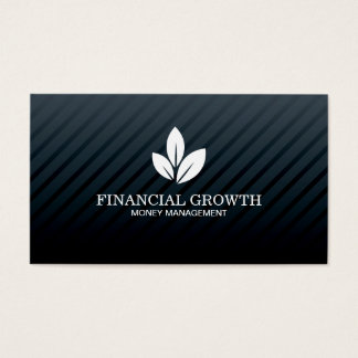 Professional Black Modern Business Card