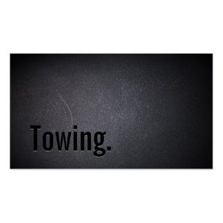 Professional Black Out Towing Business Card