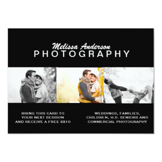PROFESSIONAL BLACK | PHOTOGRAPHY FLYER CARD