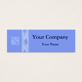 Professional blue leaf business cards