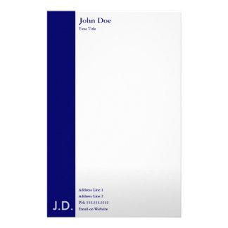 professional blues papeleria de diseño