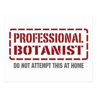 Professional Botanist Postcard