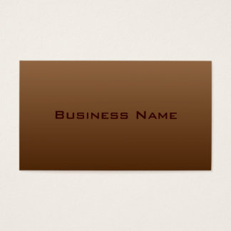 Professional Brown Business Card