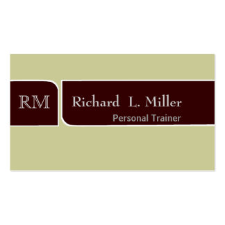 Professional Brown Custom Earth Color Smart Business Card