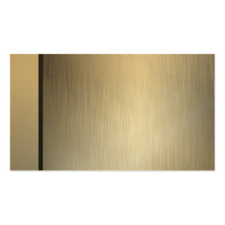 Professional Brushed Gold Business Cards