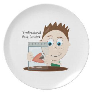 Professional Bug Catcher Dinner Plate