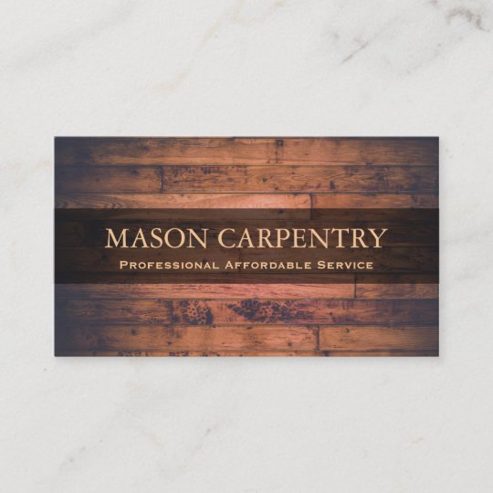 Professional builder carpenter business card zazzle professional builder carpenter business card colourmoves
