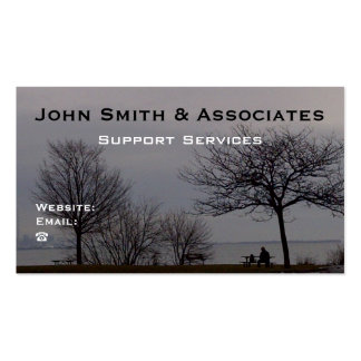 Professional Business Card by RoseWrites