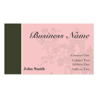 Professional Business Card [pink/brown]