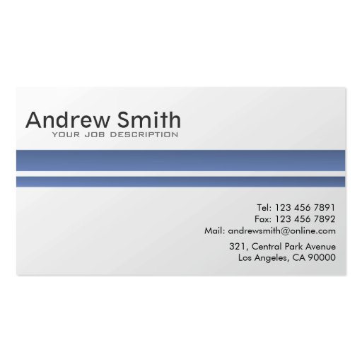 Custom Card Template professional business cards : Professional - Business Cards : Zazzle