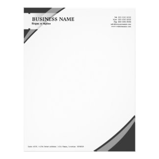 Professional Business Grey Letterhead