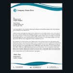 "Professional Business Letterhead<br><div class=""desc"">Professional Business Letterhead Template.Customize with your business or personal information.</div>"