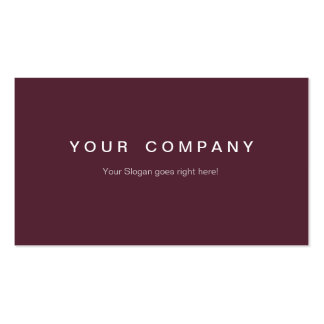 Professional Businesses visiting cards magenta Business Card