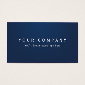 Professional Businesses visiting cards Navy Blue