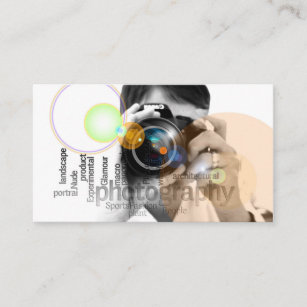 Viewfinder business cards zazzle professional camera lens viewfinder photography business card colourmoves